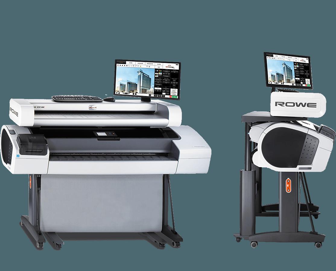 ROWE Scan 650i MFP ergonomics