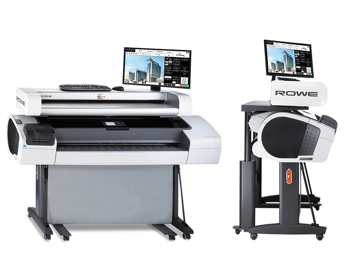 ROWE Scan 650i Multifunctional solutions